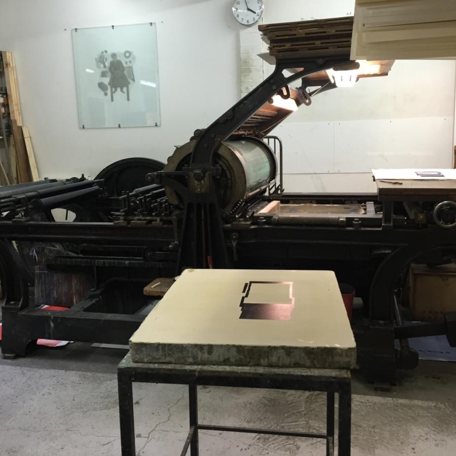 Paper weight Maze de Boer 6