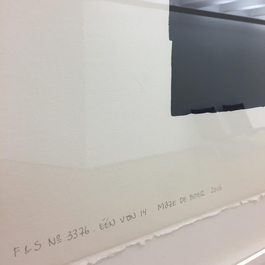 Paper weight Maze de Boer 16